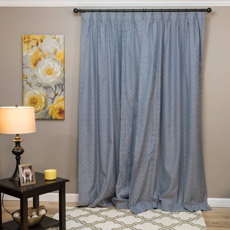 Layered curtains sheers and blackout