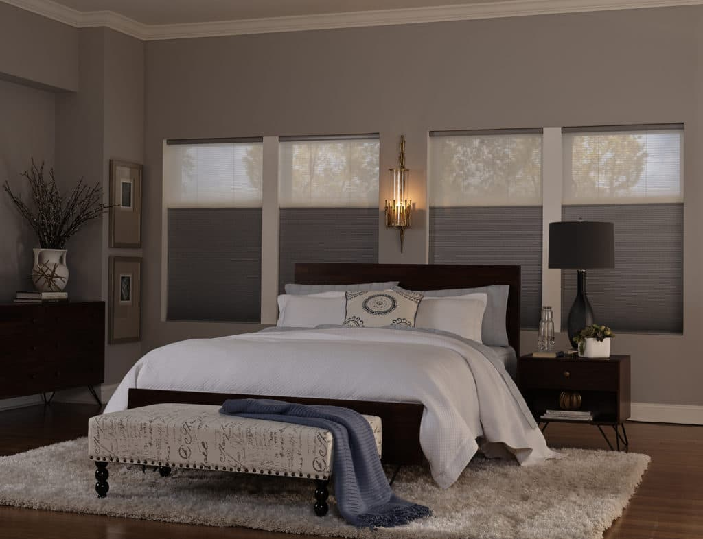 Blinds.com Signature Cellular Shades with Trilight Option
