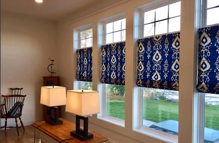 custom made curtains - The Finishing Touch