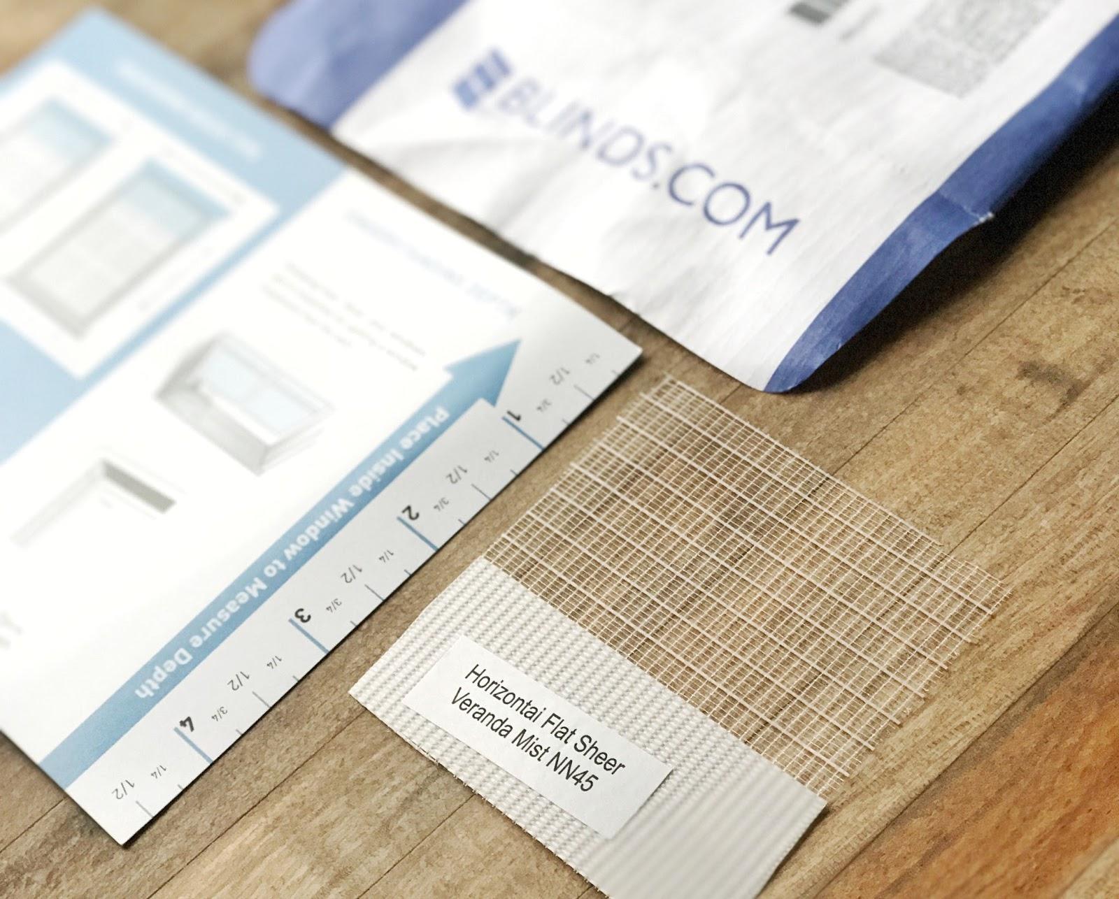 Blinds.com free fabric samples