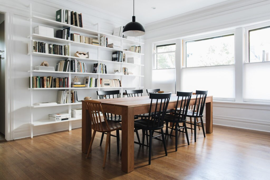 Minimalism And Creating A Cozy Family Home Amanda Jane Jones Cool Chicago Private Dining Rooms Minimalist