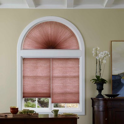Signature Light Filtering Cellular Arch Blinds Com