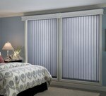 Bali: Fabric Vertical Blinds