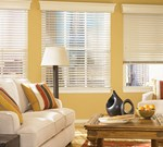 "Bali: 2 1/2"" Northern Heights Shutter Style Wood Blinds"