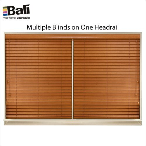"Northern Heights 1"" Wood Blind"